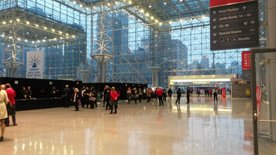 tapuz, inc. event staffing at javits center nyc