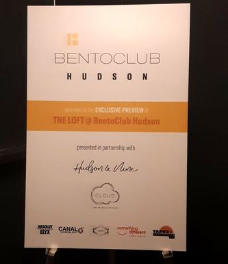 The Loft at Bento Club Hudson New York City exclusive preview event