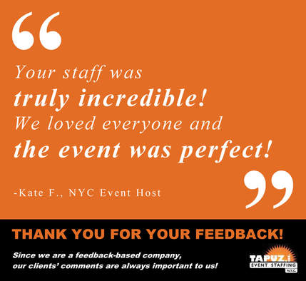 Tapuz Event Staffing Feedback