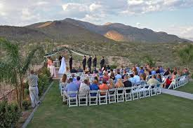Outdoor wedding in Southern Arizona.