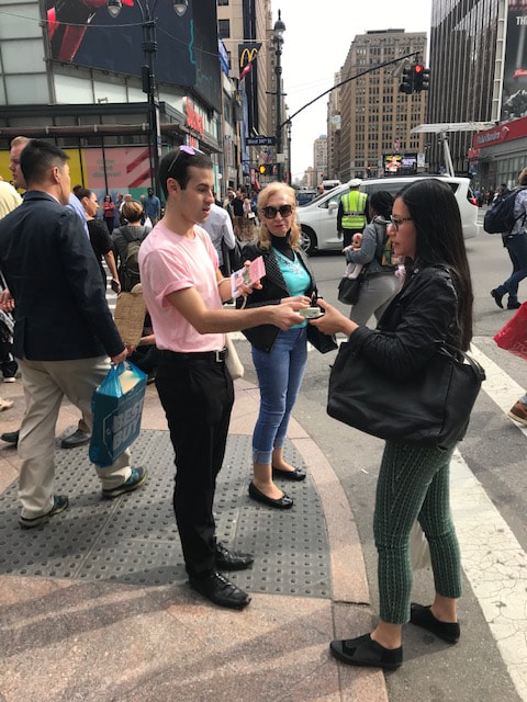 promotional staff in new york city