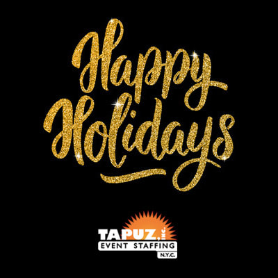 Happy holidays from Tapuz, Inc. event staffing