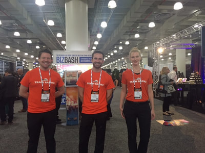 Guest Services Staff at the Javits Center in New York City.