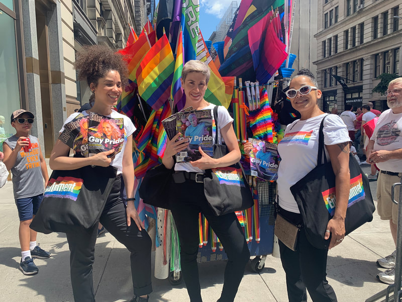 NYC Promotional Tapuz Brand Ambassadors at Pride Parade