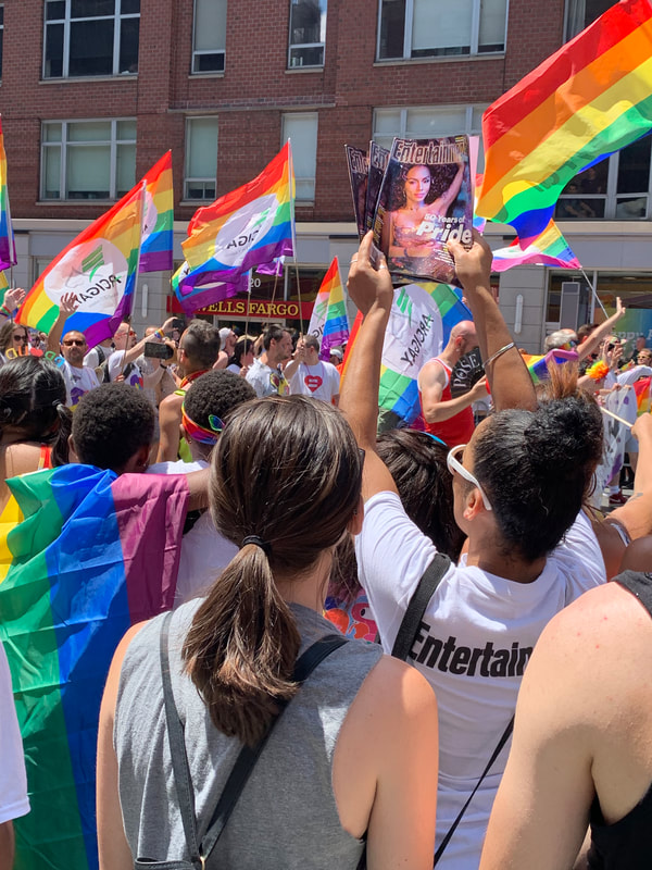 Tapuz Street Team at Pride NYC 2019